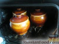 Фото приготовления рецепта: Перловая каша с грибами в горшочке - шаг №12