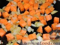 Фото приготовления рецепта: Томатный суп с рисом - шаг №5