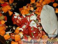 Фото приготовления рецепта: Томатный суп с рисом - шаг №9