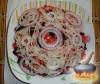 Фото к рецепту: Винегрет с квашеной капустой