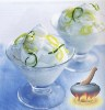 Фото к рецепту: Силлабаб с лимоном и лаймом