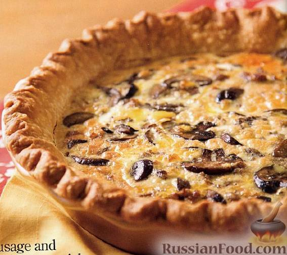 пирог со сметанной начинкой рецепт с фото