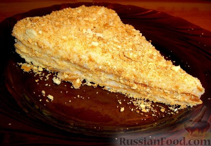 рецепты торта наполеон