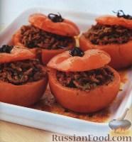 Фото к рецепту: Помидоры, фаршированные по-гречески