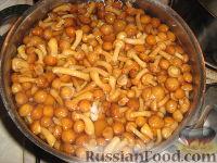 Фото приготовления рецепта: Маринование замороженных опят - шаг №2
