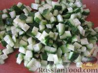 """Фото приготовления рецепта: Новогодний салат """"Лошадка"""" - шаг №6"""