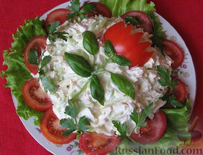 салат из овощей на день рождения