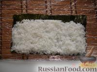 Фото приготовления рецепта: Суши по-домашнему - шаг №2