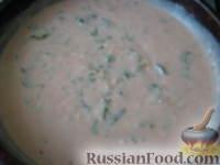 Фото приготовления рецепта: Запеченные яйца под томатным соусом с лососем - шаг №10
