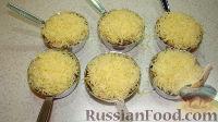 Фото приготовления рецепта: Жульен с курицей и грибами - шаг №5