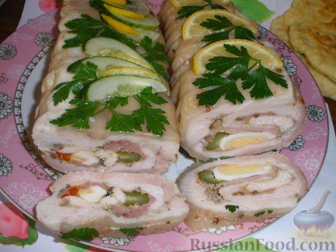 Рецепты мясных и рыбных блюд фото