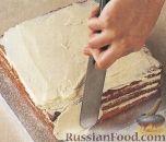 Фото приготовления рецепта: Швейцарский миндальный торт - шаг №3