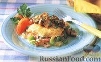 Фото к рецепту: Большой западный омлет