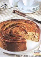 Фото к рецепту: Ореховый пирог