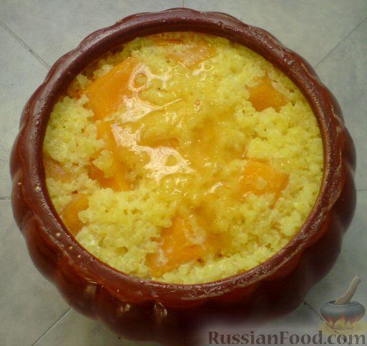 Пшенная каша в тыкве - пошаговый рецепт с фото на Повар.ру