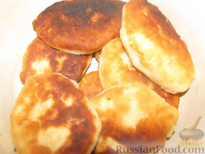 Жареные пирожки с картошкой с фото