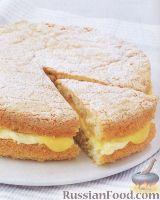 Фото к рецепту: Ванильный пирог