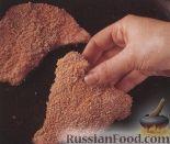 Фото приготовления рецепта: Телячьи отбивные с салатом из рукколы - шаг №4