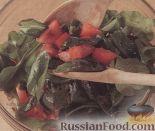 Фото приготовления рецепта: Телячьи отбивные с салатом из рукколы - шаг №5