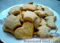 Фото к рецепту: Печенье сахарное