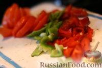 Фото приготовления рецепта: Конвертик с фаршем - шаг №2
