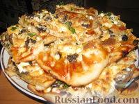 Фото к рецепту: Пицца с грибами