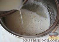 Фото приготовления рецепта: Новогодний торт «Полночь» - шаг №11