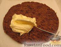 Фото приготовления рецепта: Новогодний торт «Полночь» - шаг №15