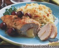 Фото к рецепту: Кармашки из куриного филе
