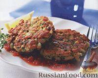 Фото к рецепту: Котлеты из рубленого мяса и зелени