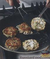 Фото приготовления рецепта: Котлеты из рубленого мяса и зелени - шаг №3