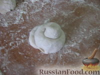 Фото приготовления рецепта: Плюшки с корицей