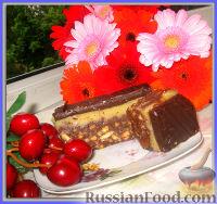 Фото к рецепту: Пирожное с тоффи