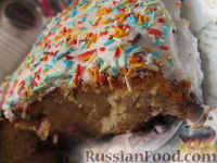 Фото к рецепту: Ягодный воздушный кекс