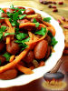Фото к рецепту: Салат из фасоли и моркови по-корейски