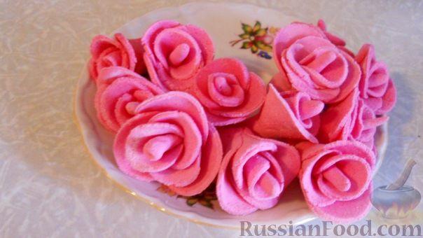 Как сделать розу из мастики шаг за шагом