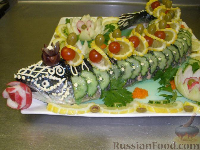 Закуски из рыбы и креветок