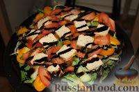 Фото к рецепту: Вкусный постный салатик