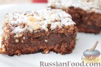 Фото к рецепту: Брауни с черносливом