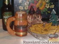 Фото к рецепту: Луковое печенье к пиву
