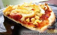 Фото к рецепту: Пицца-соус на тончайшем тесте
