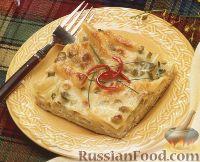 Фото к рецепту: Макароны, запеченные в сливочной подливке